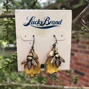 Lucky Brand Bee Earrings